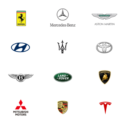 car finance different brand logos 2 for mobile